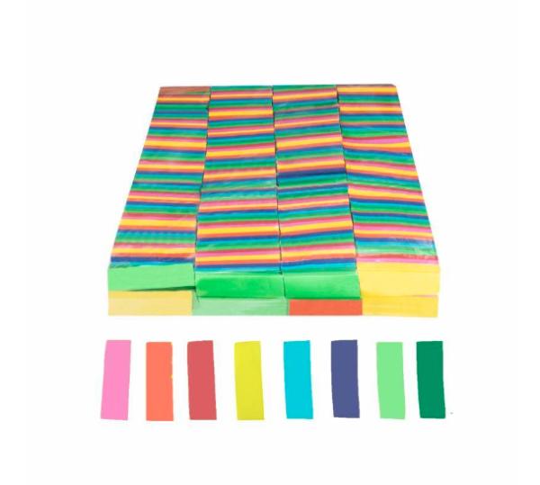 Confeti rectangular de papel 1