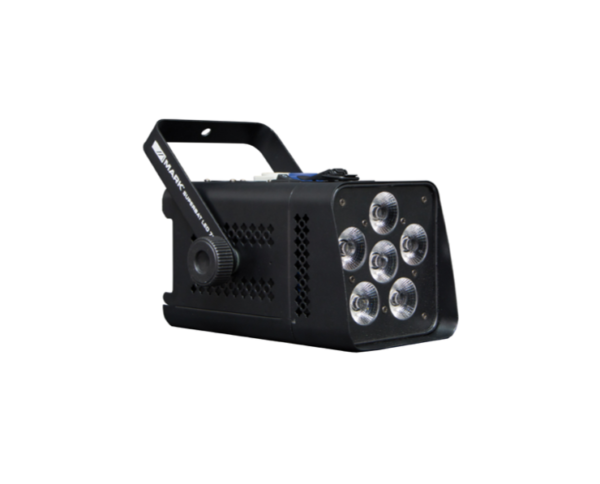 Foco LED inalámbrico negro 1
