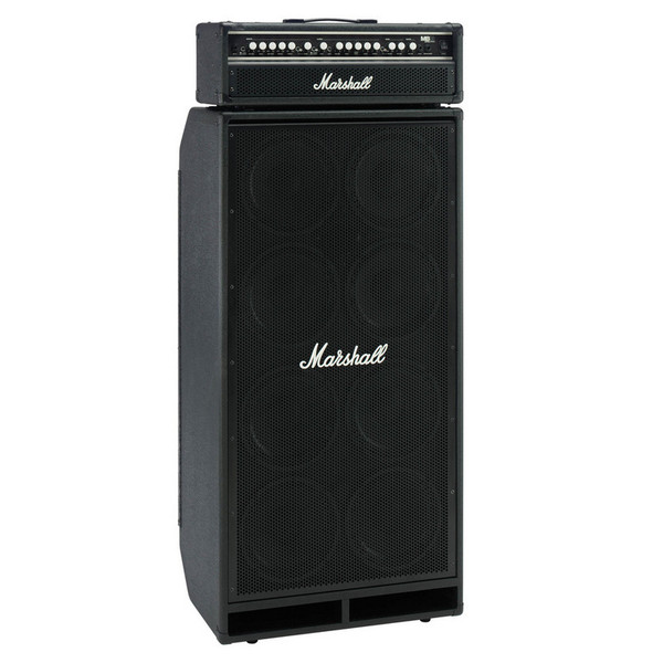 Marshall VBC 8x10 Bass Cab + VBA 400 - Valve Bass Head 1