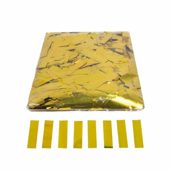 Confeti rectangular oro brillo 1