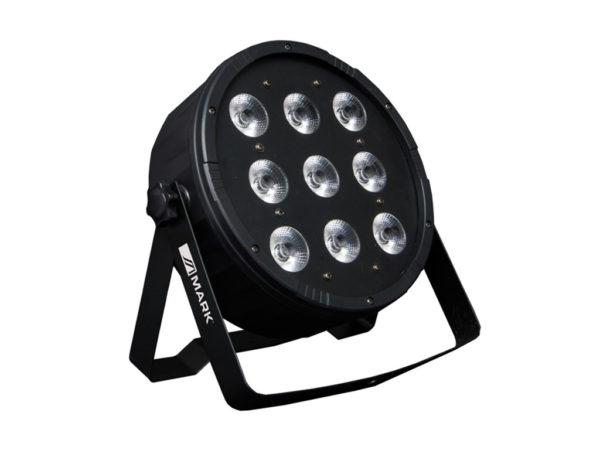 Foco LED 9x8w RGBW 1