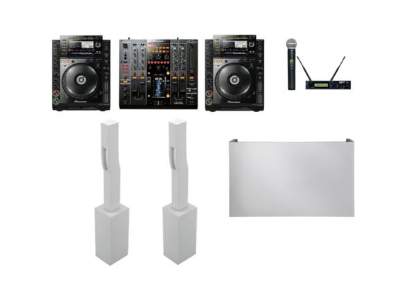 Paquete sonido premium blanco 13 1