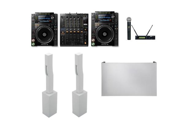 Paquete sonido premium blanco 15 1