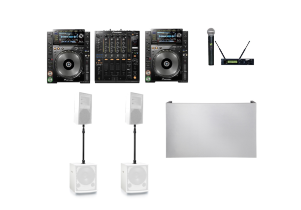 White Premium Sound package 16 1